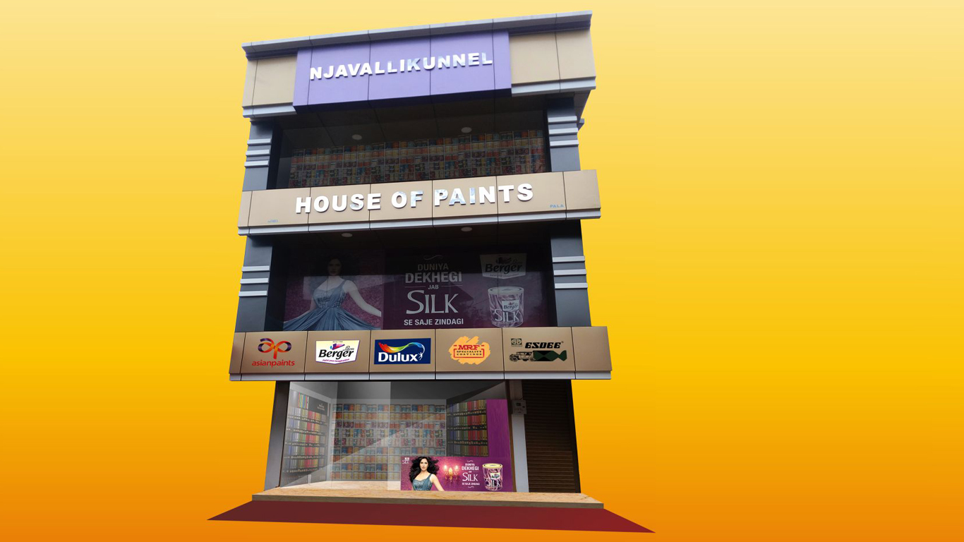 wholesale shop for paints in kerala
